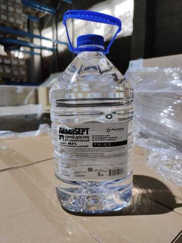 Антисептик для рук AkmaSept 5 литров