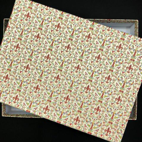 Коробка подарочная Рубашка Красная лилия, 3
