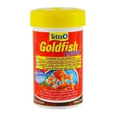 Корм для улучшения окраса золотых рыб, TetraGoldfish Colour, в хлопьях