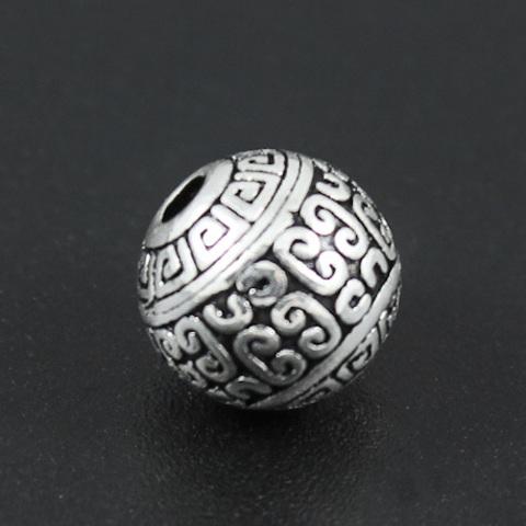 Бусина из серебра 925