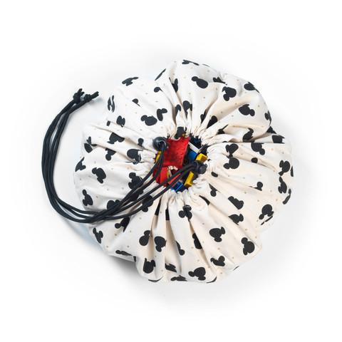 Мини-мешок Disney Mini Mickey (40 см) для хранения игрушек и игровой коврик Play&Go