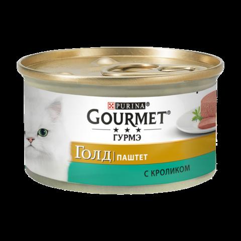 Gourmet Gold Консервы для кошек с Кроликом , Паштет
