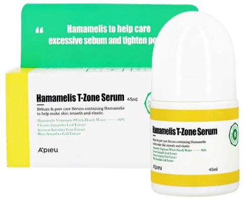 APIEU Hamamelis Сыворотка для Т-зоны с гамамелисом A'PIEU Hamamelis T-Zone Serum 45мл