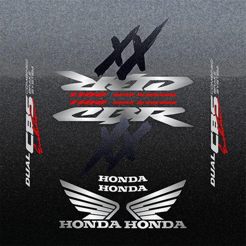 Набор виниловых наклеек на мотоцикл HONDA CBR 1100XX 1999