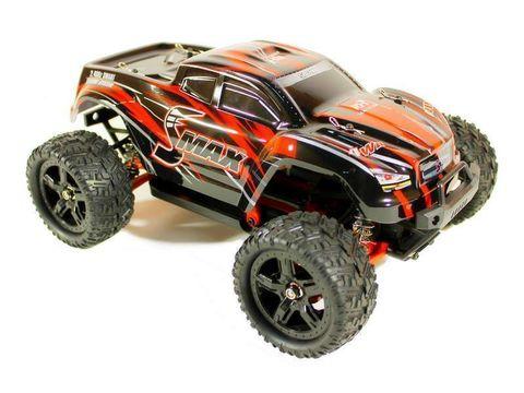 Радиоуправляемый монстр Remo Hobby SMAX UPGRADE 4WD RTR масштаб 1:16 2.4G - RH1631UPG-RED