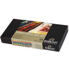 Набор акварельных красок Rembrandt - 48 цветов в кюветах по 5мл