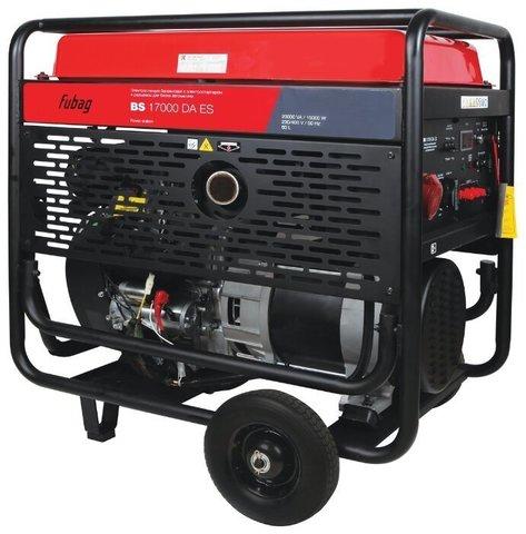Кожух для бензинового генератора Fubag BS 17000 DA ES (15000 Вт)