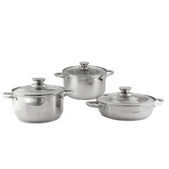 Набор посуды 6 предметов GALAXY GL9505