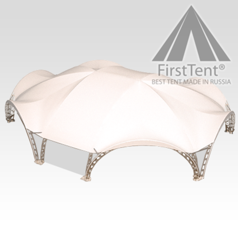 Арочный шатер гексагональ 18,7х15,6