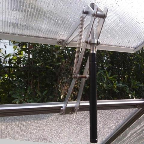 Автомат для открывания форточек в теплице