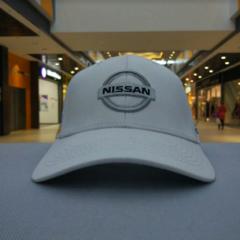 Кепка Ниссан белая (Бейсболка Nissan)