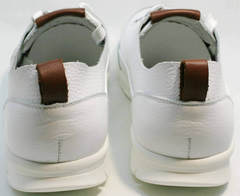 Городские кроссовки мужские белые Faber 193909-3 White.