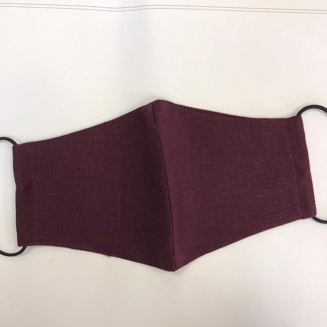 Многоразовая защитная маска из льна