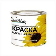 Краска масляная КРАСКИ ЧЕРНОЗЕМЬЯ МА-15 (желтый)