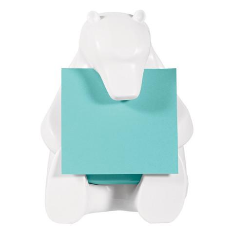 Диспенсер для Z-блоков Post-it BEAR-330 медведь + z-блок 76х76, 90л.