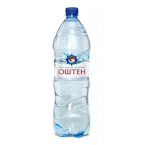 Вода Оштен питьевая негазированная ПЭТ 1,5л.