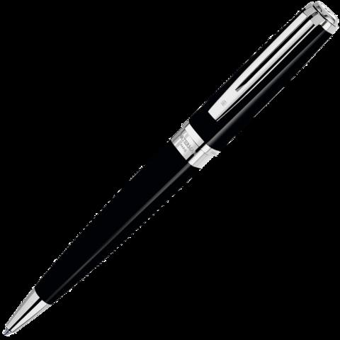 Waterman Exception - Black ST Slim, шариковая ручка, M