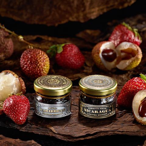 Табак WTO Caribbean Blend Strawberry (ВТО Карибский Бленд Клубника личи) 20 г