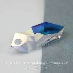 6912 Подвеска Сваровски Kaputt Crystal AB (28 мм) С подписью  Jean Paul GAULTIER