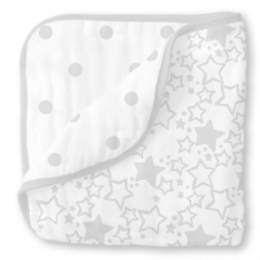 Одеяло Luxe Muslin Starshine Sterling