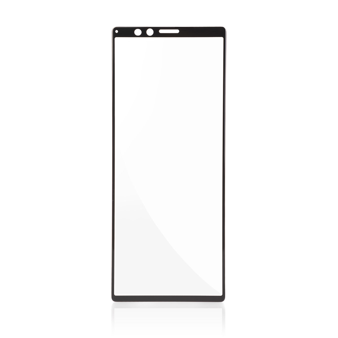 Полноэкранное защитное стекло на Xperia 5