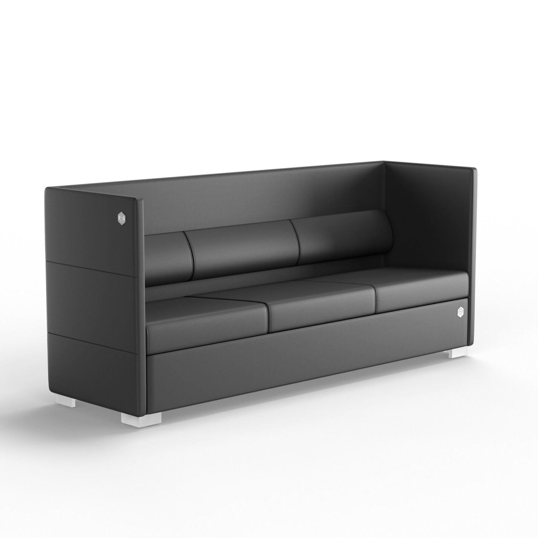 Трехместный диван KULIK SYSTEM CONFERENCE Кожа 3