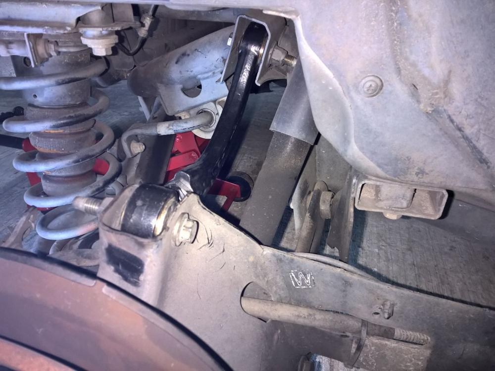 Mazda 3, 5 рычаги для развала задних колес
