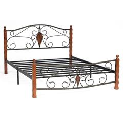 Кровать VIKING (mod. 9227) — дуб в красноту