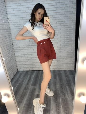 летние шорты на высокой талии интернет магазин
