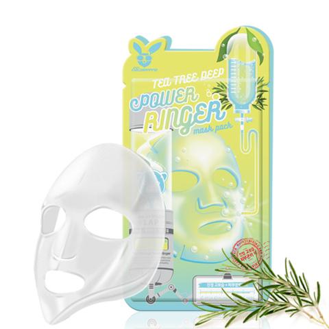 Маска для лица на тканевой основе с экстрактом чайного дерева Elizavecca