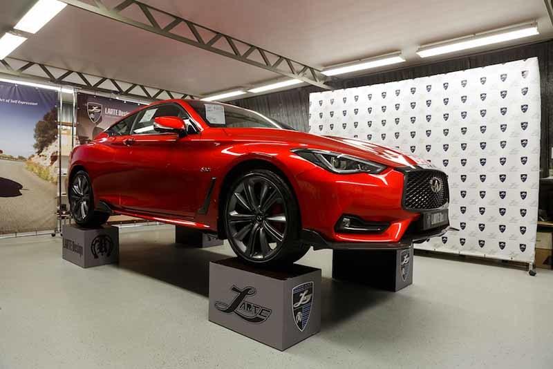 Обвес Larte Design для Infiniti Q60 coupe