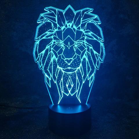 Лампа Царь зверей - Лев