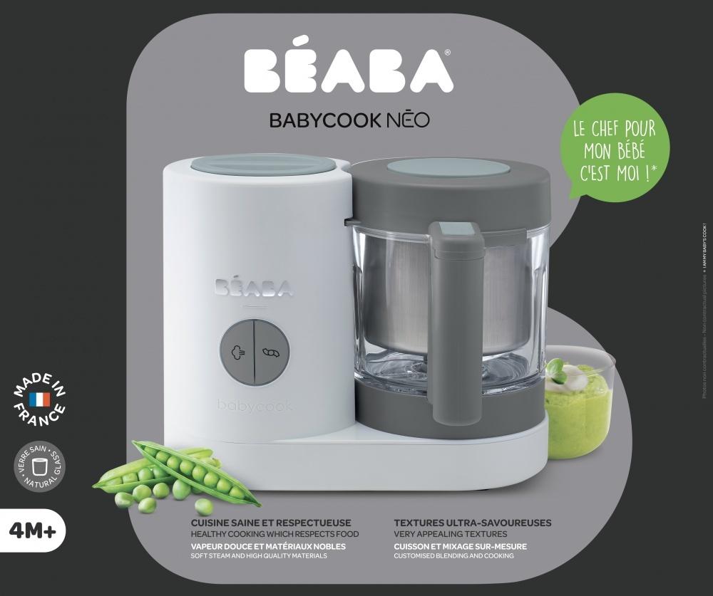 Beaba блендер-пароварка Babycook Neo Grey/White