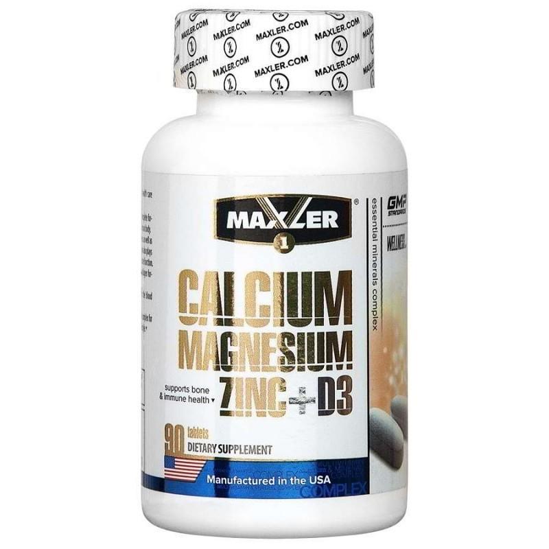 Calcium Zinc Magnesium+D3