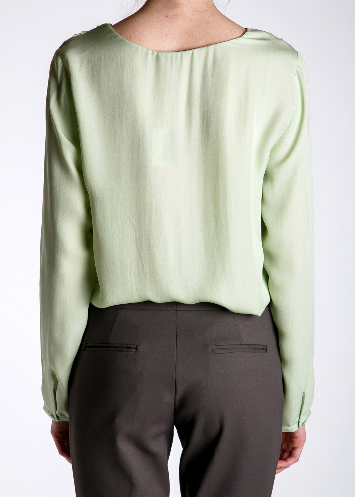Блуза из шелка ETRO