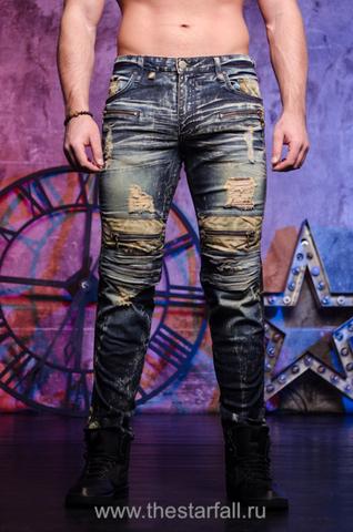 Мужские джинсы Robins Jean 5D Dark 2