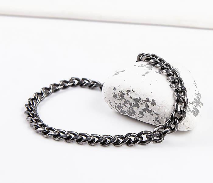 BM552 Тонкий браслет - цепочка из нержавеющей стали