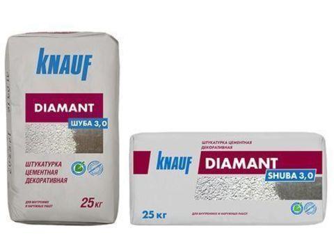 Штукатурка цементная Кнауф Диамант Шуба 25 кг
