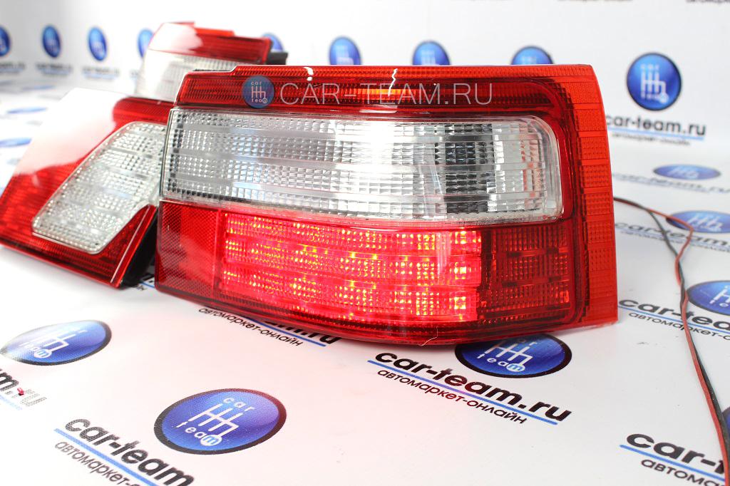Задние диодные фонари (клюшки) на ВАЗ 2110 в сборе, без тонировки