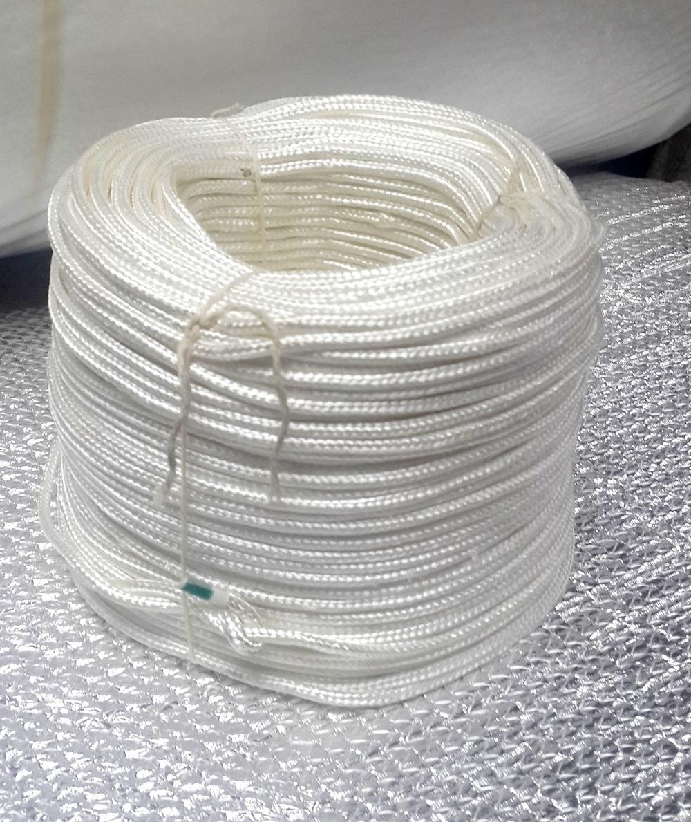 Шнур кремнеземный, наполненный кремнеземной нитью ШКН(Н) 1-10 мм (бухта)