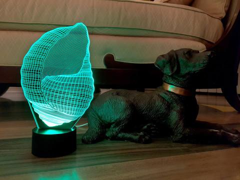 Лампа Ракушка