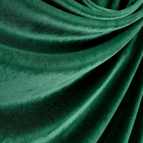 Бархат театральный негорючий темно-зеленый, ш - 140 см., 330 гр./м2. арт. BTVN/140/000781