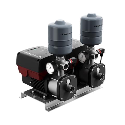 Насосная установка повышения давления - Grundfos CMBE TWIN 5-62 Schuko