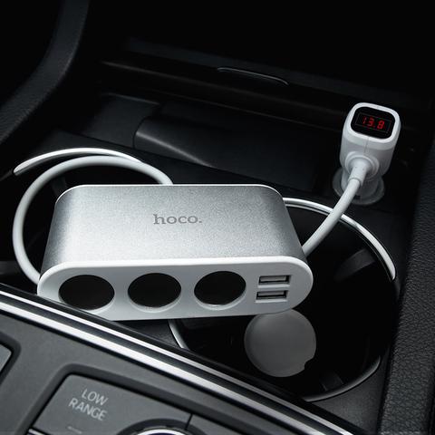 Купить автомобильный адаптер Hoco Z13