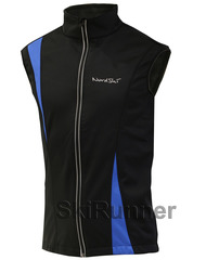 Лыжный жилет Nordski Active Black/Blue