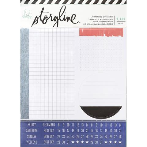 Стикеры для планирования - Heidi Swapp Storyline2 Journaling Stickers 1131шт- Boy