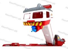 ОГРОМНАЯ Спасательная пожарная машина + 1 щенок с машиной