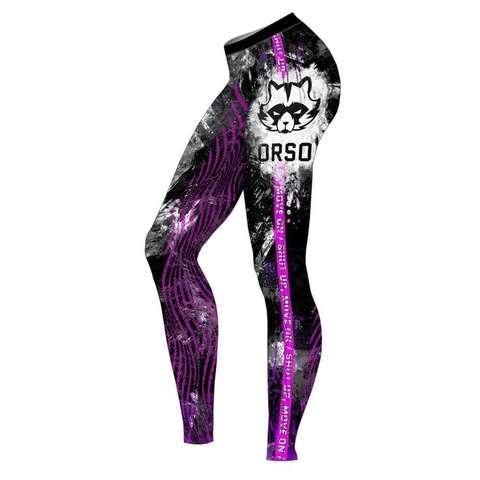 купить женские леггинсы orso viola для фитнеса единоборств занятий спортом