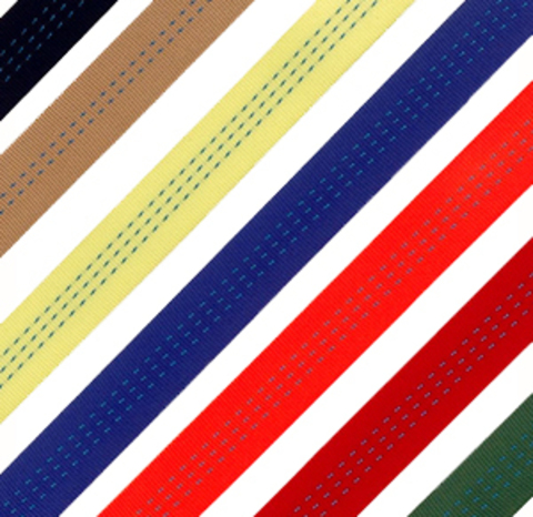 Лента текстильная TOR 7:1 90 мм 13500кг (желтый), м
