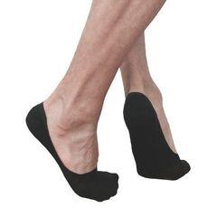 Мужские носки следки черные Romeo Rossi Black RR00711